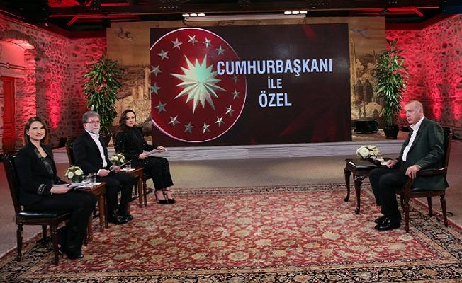Erdoğan'dan CNN Türk-Kanal D ortak yayınında