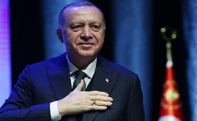Erdoğan, engelli vatandaşlarla buluştu