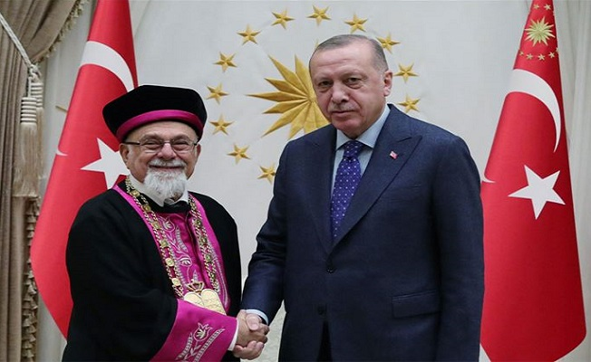 Erdoğan, Türk Musevi heyetini kabul etti