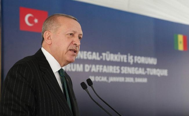 Erdoğan, Türkiye-Senegal İş Forumu'nda konuştu: