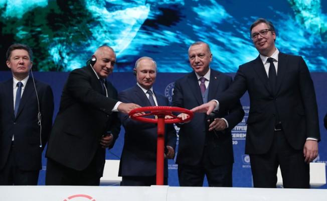 TürkAkım Projesi Açılış Töreni için 3 lider Türkiye'de