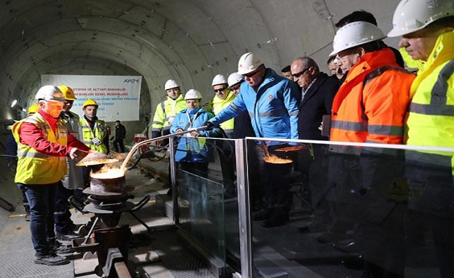 Türkiye'nin ilk 'Hızlı Metro' sistemi olacak