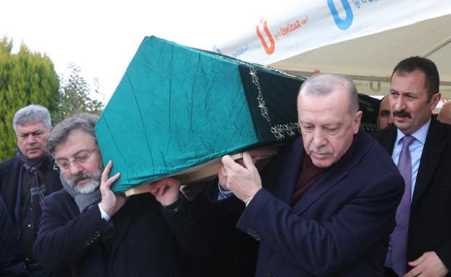 Cumhurbaşkanı Erdoğan, Alaaddin Şahin'in cenaze törenine katıldı