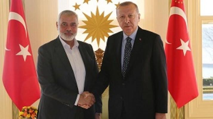 Hamas Lideri Heniyye ile görüştü