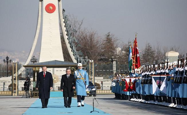 Özbekistan ile aramızdaki birlikteliği daha da perçinledik