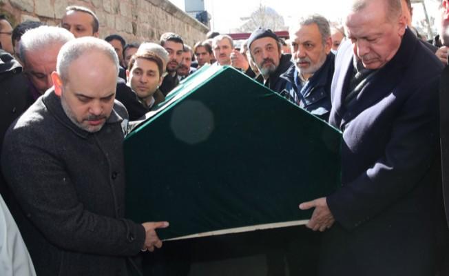 Sinan Kılıç'ın cenaze törenine katıldı