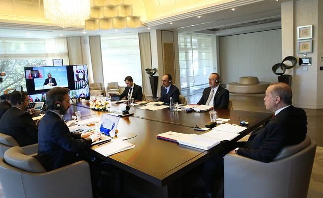 Erdoğan: Salgın sonrası için de hazırlık yapmalıyız