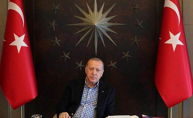 Erdoğan A Milli Futbol Takımı oyuncularıyla görüştü