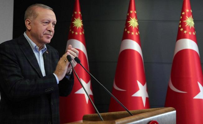 Dev projenin açılışında Cumhurbaşkanı Erdoğan'dan İstanbul açıklaması
