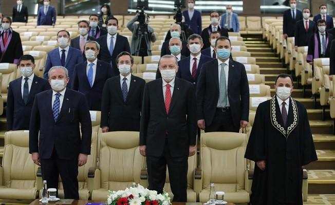 Cumhurbaşkanı Erdoğan, Anayasa Mahkemesi üyesi Bağcı'nın yemin törenine katıldı