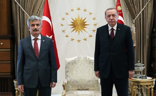 Cumhurbaşkanı Erdoğan, Danıştay Başkanı Yiğit'i kabul etti