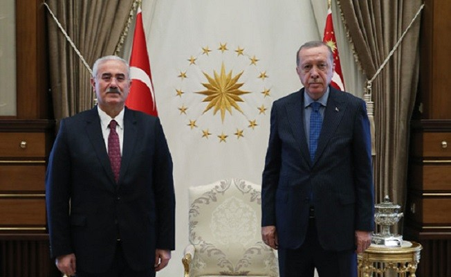 Cumhurbaşkanı Erdoğan, Yargıtay Başkanı Akarca'yı kabul etti