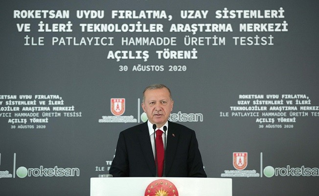 Cumhurbaşkanı Erdoğan, Roketsan'da