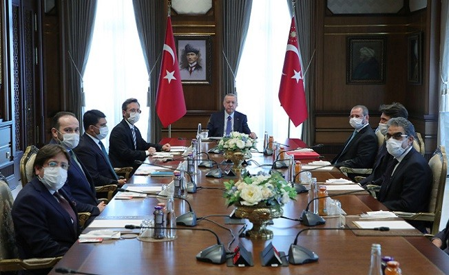 Anadolu Ajansı Yönetim Kurulu Külliye'de