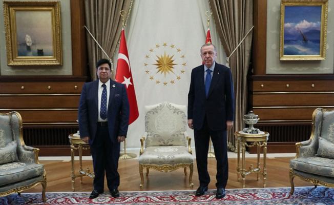Başkan Erdoğan, Bangladeş Dışişleri Bakanı Momen'i kabul etti