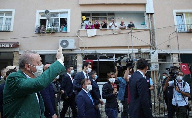 Cumhurbaşkanı Erdoğan Giresun'da!