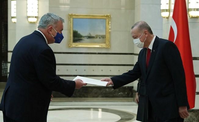 Almanya büyükelçisinden güven mektubu