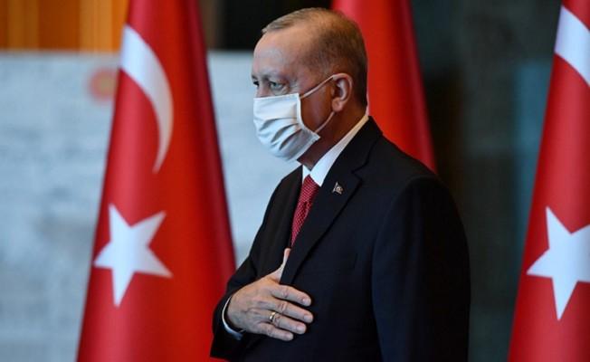 Başkan Erdoğan, Cumhuriyet Bayramı tebriklerini kabul etti