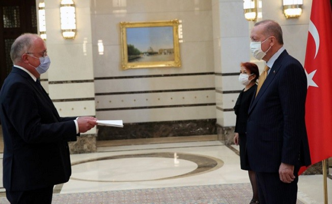 Belçika büyükelçisinden güven mektubu