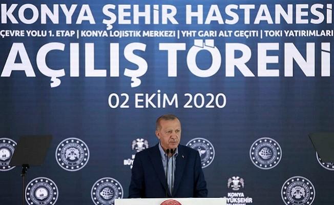 Cumhurbaşkanı Erdoğan'dan Konya'da dev açılış!