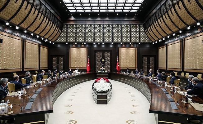 Cumhurbaşkanı Erdoğan, Din İşleri Yüksek Kurulu Üyelerini kabul etti