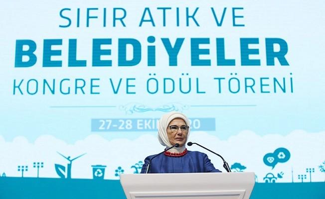Emine Erdoğan: Sıfır atık, bir yaşam felsefesi ve davranış biçimidir
