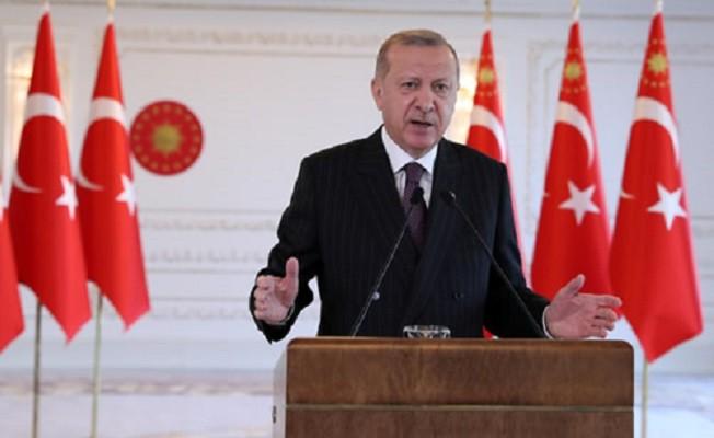 """Erdoğan, """"Suriye'de halen var olan terör bölgeleri ya bize söz verildiği şekilde temizlenir ya da biz gider kendimiz temizleriz"""""""