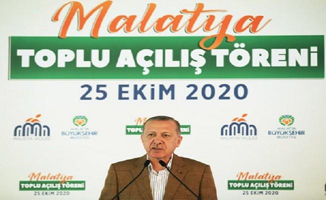 Erdoğan:Milletimizin değerlerine savaş açanlar dışarıdan destek almışlardır