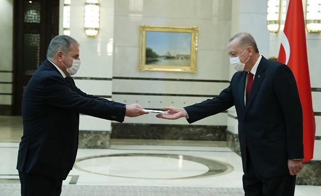 İspanya büyükelçisinden güven mektubu