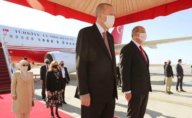 Başkan Erdoğan ve MHP lideri Bahçeli KKTC'de!