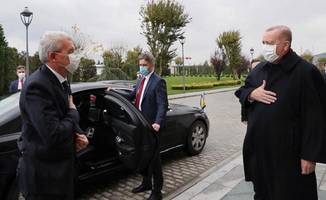 Cumhurbaşkanı Erdoğan, Bosna Hersek Devlet Başkanlığı Konseyi Başkanı Caferoviç ile görüştü