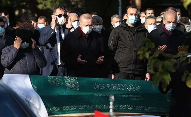 Cumhurbaşkanı Erdoğan, İhsan Kadaifci'nin cenaze törenine katıldı