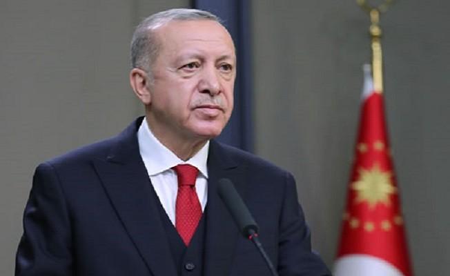Erdoğan: Hamdolsun bugün yıldız ve hilal Karabağ semalarında gururla dalgalanıyor