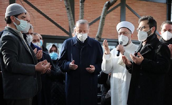 Erdoğan, Yavuz Bahadıroğlu'nun cenaze törenine katıldı