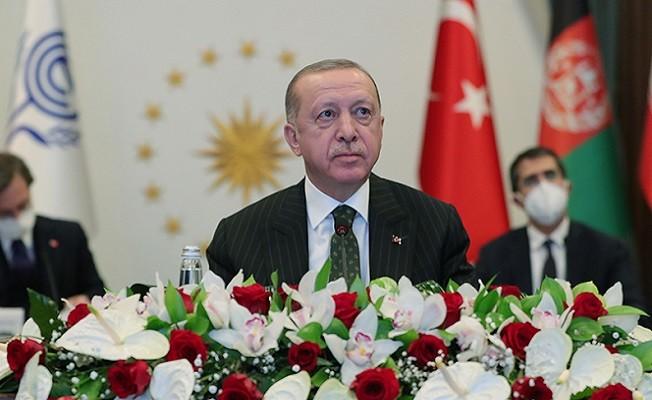 Başkan Erdoğan'dan Ekonomik İşbirliği Teşkilatı 14. Liderler Zirvesi'nde önemli açıklamalar