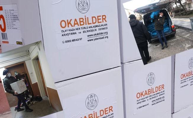 OKABİLDER ANKARA'DA İHTİYAÇ SAHİPLERİNİ UNUTMADI