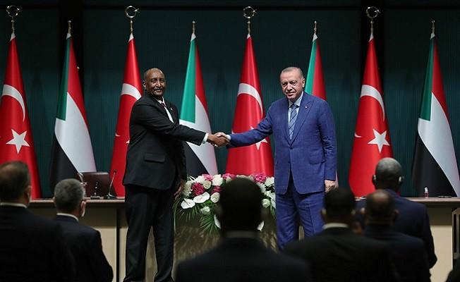 Cumhurbaşkanı Erdoğan, Sudan, tarihî beşeri kültürel bağların bulunduğu kardeş bir ülke