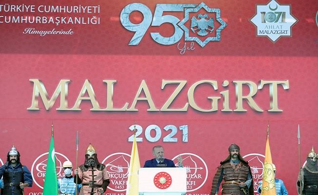 Malazgirt Zaferi'nin 950. yıl dönümü kutlandı.