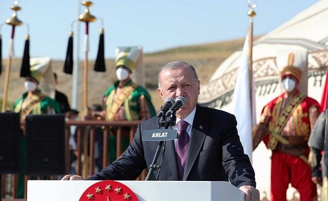 Başkan Erdoğan: Artık hiçbir gücün ülkemize kayıplar verdirmesine müsaade etmeyeceğiz