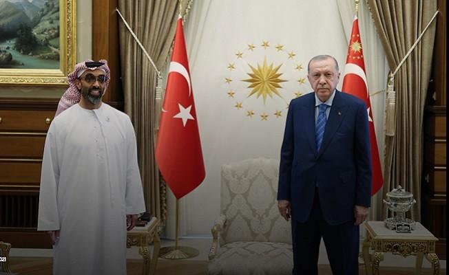 Başkan Erdoğan, BAE Ulusal Güvenlik Danışmanı'nı kabul etti