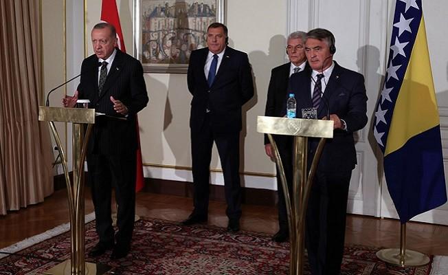 Başkan Erdoğan, Bosna-Hersek'in milletimizin gönlünde apayrı bir yeri vardır