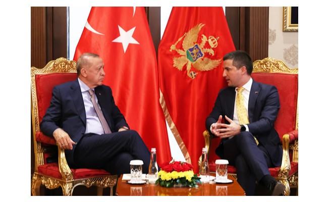 Başkan Erdoğan, Karadağ Parlamento Başkanı Beçiç'i kabul etti