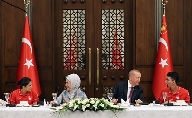 Başkan Erdoğan, Spor altyapısına çok ciddi yatırımlar yaptık