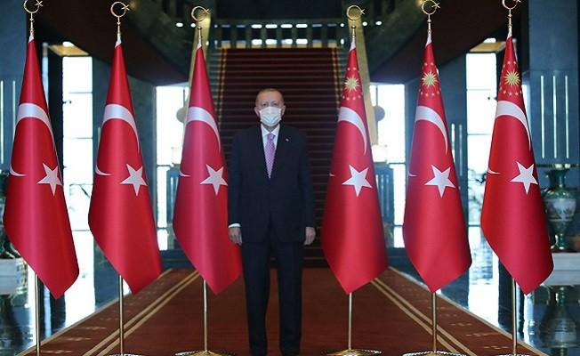 Başkan Erdoğan Zafer Bayramı tebriklerini kabul etti