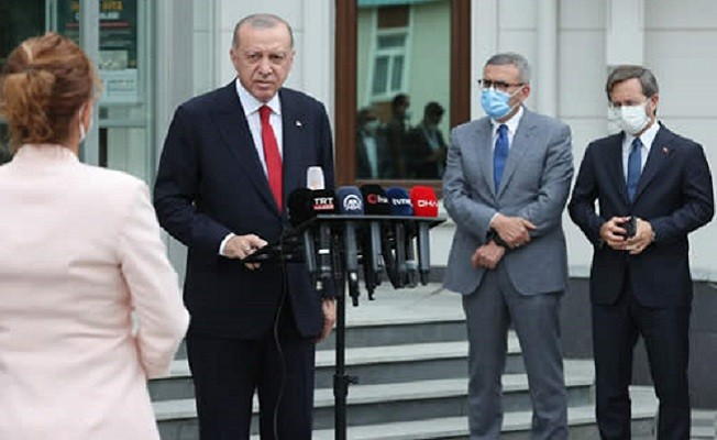 Başkan Erdoğan: 252 milyon fidanı yıl sonuna kadar dikeceğiz