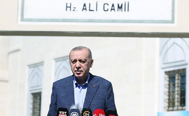 Başkan Erdoğan, Amerika şu anda terör örgütlerine beklenenin çok çok üzerinde destek veriyor