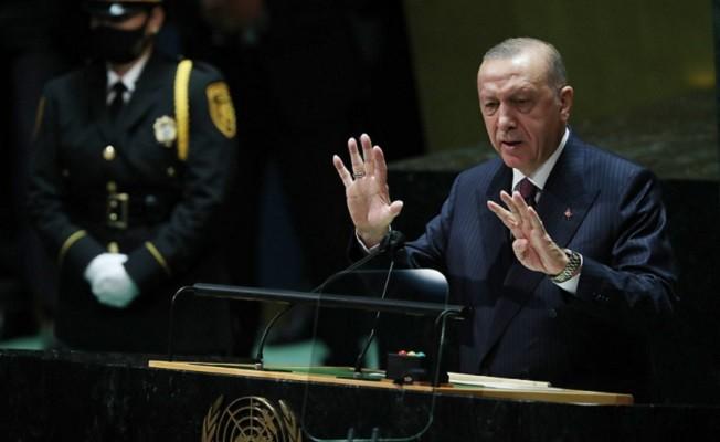 Başkan Erdoğan, Barış, istikrar, refah ve mutluluk içinde bir dünyayı beraberce inşa edebiliriz.