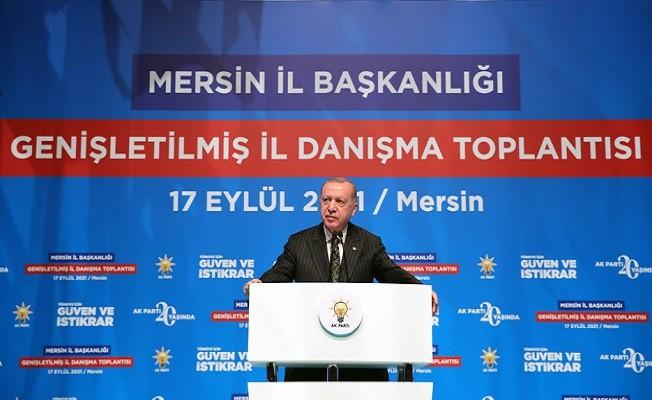 """Başkan Erdoğan: """"Bizim ölçümüz başkaları değil, İlkelerimiz, Kadim değerlerimizdir"""""""