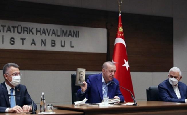 Başkan Erdoğan, BM 76. Genel Kurulu'na katılmak üzere ABD'ye gitti