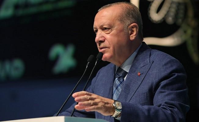 """Başkan Erdoğan, """"GELECEĞİ YAKALAMANIN PEŞİNDEYİZ"""""""